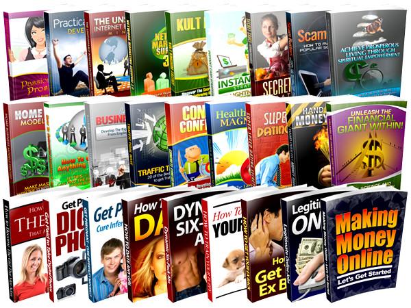 e-books com direito de revenda